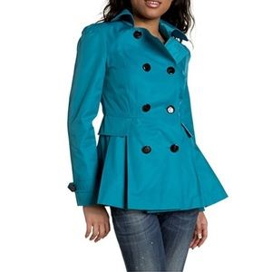 Miss Sixty Double Breasted Peacoat, Size XS